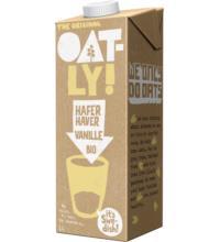 Oatly Haferdrink Vanille, 1 ltr Packung