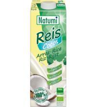 Natumi Reis Kokos Drink, 1 ltr Packung