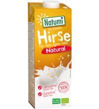 Natumi Hirse-Drink natur, 1 ltr Tetra Pack