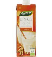 dennree Dinkel Drink, 1 ltr Packung
