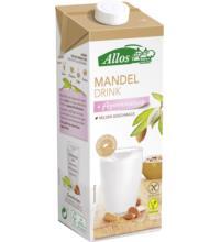 Allos Mandel Drink gesüßt, 1 ltr Packung