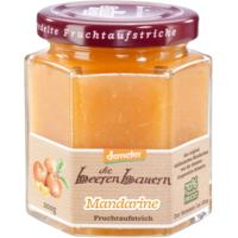 die beerenbauern Mandarine Fruchtaufstrich, 200 gr Glas -70% Fruchtanteil-