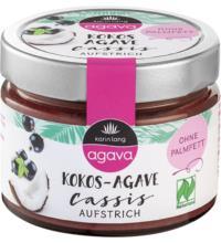 Karin Lang Kokos-Cassis-Aufstrich, 250 gr Glas