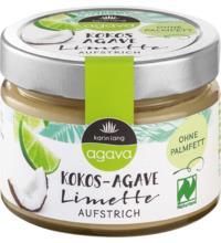 Karin Lang Kokos-Limetten-Aufstrich, 250 gr Glas