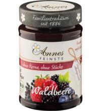 Annes Waldbeer Fruchtaufstrich, 210 gr Glas - 55% Fruchtanteil -