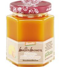 die beerenbauern Mango Bitterorange Fruchtaufstrich, 200 gr Glas -70% Fruchtanteil-