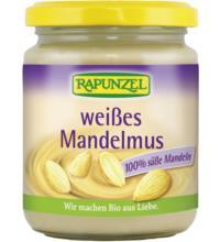 Rapunzel Weißes Mandelmus, 250 gr Glas