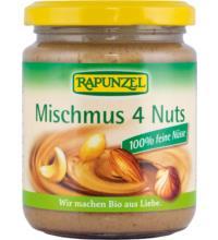 Rapunzel Mischmus 4 Nuts, 500 gr Glas