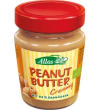 Allos Peanut Butter Creamy, 227 gr Glas