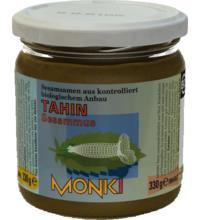 Monki Tahin ohne Salz, 330 gr Glas - dunkel -