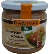Danival Maronenpüree mit Vanille, 380 gr Glas