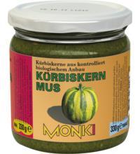 Monki Kürbiskernmus, 330 gr Glas