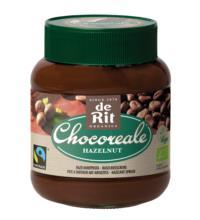 Chocoreale Haselnuss Creme, 350 gr Glas -13% Haselnussanteil-