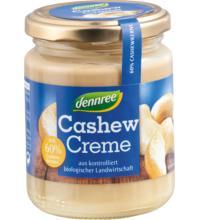 dennree Cashew Creme, 250 gr Glas  - 60% Cashewanteil -