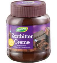 dennree Zartbitter Creme, 400 gr Glas -30% Kakaoanteil-