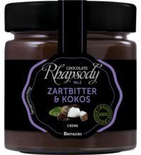 Rhapsody Zartbitter & Kokos Creme, 200 gr Glas