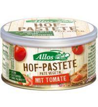 Allos Hof Pastete Tomate, 125 gr Stück