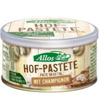 Allos Hof Pastete Champignon, 125 gr Stück