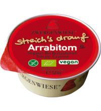 Zwergenwiese Kleiner streich´s drauf Arrabitom, 50 gr Packung  - Arrabiata / Tomate -