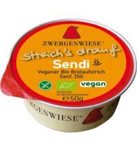Zwergenwiese Kleiner streich´s drauf Sendi, 50 gr Packung  - Senf / Dill -