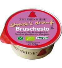 Zwergenwiese Kleiner streich´s drauf Bruschesto, 50 gr Packung - Bruschetta nach Pesto Art -