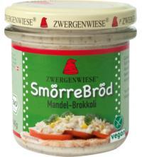 Zwergenwiese SmörreBröd Mandel-Brokkoli, 140 gr Glas