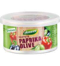 dennree Pastete Paprika Olive, 125 gr Dose