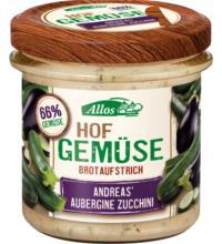 Allos Hof-Gemüse Andreas Aubergine Zucchini, 135 gr Glas