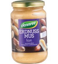 dennree Erdnussmus, 350 gr Glas