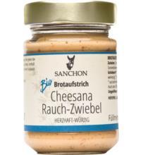 Sanchon Cheesana Rauch-Zwiebel, 170 gr Glas