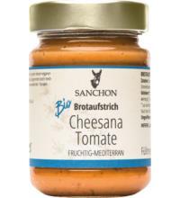 Sanchon Cheesana Tomate, 170 gr Glas