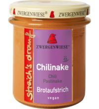 Zwergenwiese streich`s drauf Chilinake, 160 gr Glas - Chili / Pastinake -