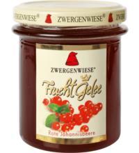 Zwergenwiese FruchtGelee Rote Johannisbeere, 195 gr Glas
