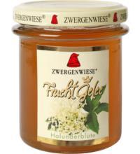 Zwergenwiese Blütengelee Holunderblüte, 195 gr Glas