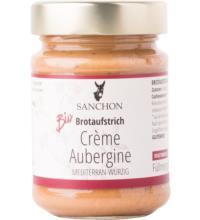 Sanchon Crème Aubergine, 190 gr Glas