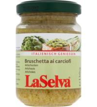 La Selva Bruschetta aus Artischocken, 130 gr Glas