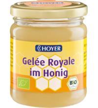 Hoyer Gelée Royale im Honig, 250 gr Glas