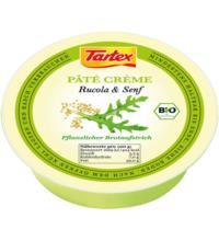 Tartex Pâté Crème Rucola & Senf, 75 gr Schale