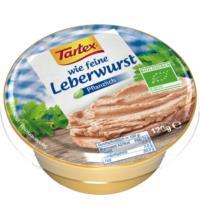 Tartex wie feine Leberwurst, 120 gr Schale