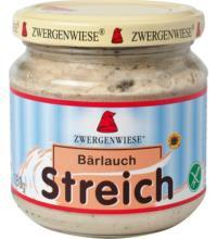 Zwergenwiese Bärlauch Streich, 180 gr Glas