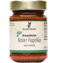 Sanchon Rote Paprika - würziger Brotaufstrich, 190 gr Glas