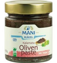 Mani Kalamata Oliven-Paste, 180 gr Glas