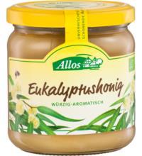 Allos Eukalyptushonig, Uruguay oder Australien, 500 gr Glas - cremig -
