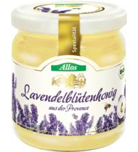 Allos Lavendelhonig aus der Provence, Frankreich, 500 gr Glas - cremig -