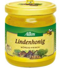 Allos Lindenhonig, Rumänien/Bulgarien/Deutschland, 500 gr Glas - cremig -