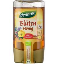 dennree Blütenhonig, Mexiko/Ungarn, 250 gr PET Flasche - flüssig -