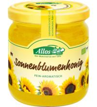 Allos Sonnenblumenhonig,500 gr Glas - cremig -