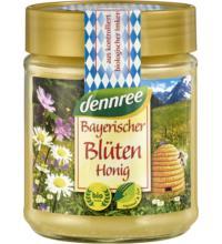dennree Bayerischer Blütenhonig, 500 gr Glas - cremig -