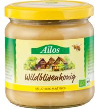 Allos Wildblütenhonig, Brasilien/Nicaragua, 500 gr Glas - cremig -