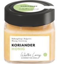 Walter Lang Korianderhonig,  Bulgarien,  275 gr Glas - cremig -